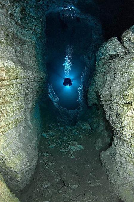 Technologies Nouvelles: Cave Diving | plongee scuba diving tec diving | Scoop.it