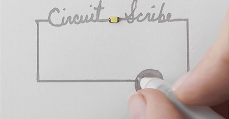 Ballpoint Pen Draws Electronic Circuits With Conductive Ink | 21st Century Education apps for Exceptional Students | Scoop.it