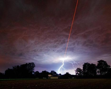 Laser Bombardment Clouds to Prevent Rain Formation | Laser from Highlasers | Scoop.it