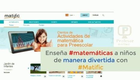 Enseña #matemáticas a niños de manera divertida con #Matific | Profesoronline | Scoop.it