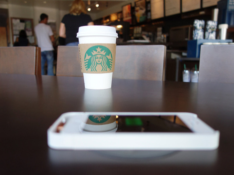 Starbucks' plan to roll out wireless phone chargers is just a big fat ad for Powermat & Duracell | Digital-News on Scoop.it today | Scoop.it