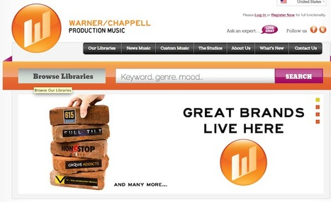 Warner/Chappel Unites Production Companies, Launches New Website | Music business | Scoop.it