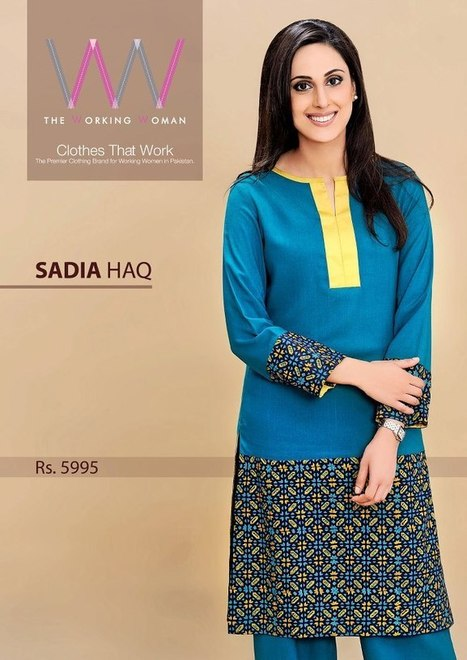 The Working Women Winter Collection 2012-13 | Latest Fashion News of Pakistan | Scoop.it