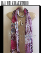Scarf with Necklace Attached | Clothing, Shoes and Accessories | Scoop.it