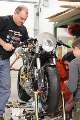 Students revved up about teacher, Nisky Garage   Ductalk Ducati News   Scoop.it
