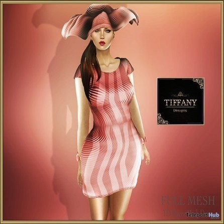 Nayra Mesh Dress by Tiffany Designs | Teleport Hub - Second Life Freebies | Second Life Freebies | Scoop.it