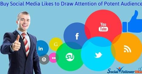 Social Follower Likes: Buy Social Media Likes to Draw Attention of Potent Audience | Social Media Marketing | Scoop.it
