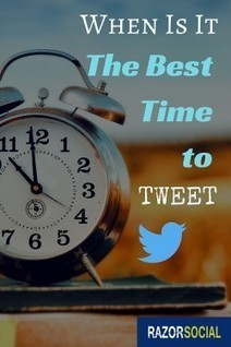 When is the best time to tweet | Ian Cleary | Public Relations & Social Media Insight | Scoop.it