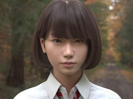 This Japanese schoolgirl looks so lifelike you won't believe she's not human | Post-Sapiens, les êtres technologiques | Scoop.it