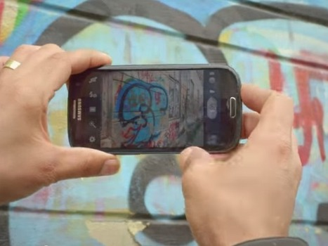This app wipes out ugly street art - CNET | Street Art | Scoop.it