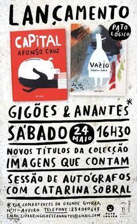Afonso Cruz e Catarina Sobral publicam novos livros na Pato Lógico - Diário Digital | Arte de cor | Scoop.it