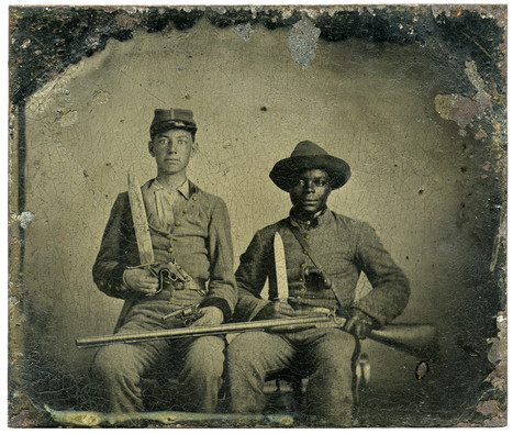 Library of Congress acquires iconic Civil War image of master, slave headed to ... - Chicago Tribune | NGOs in Human Rights, Peace and Development | Scoop.it