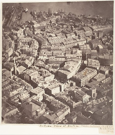 This Picture of Boston, Circa 1860, Is the World's Oldest Surviving Aerial Photo | Organic Pathos | Scoop.it