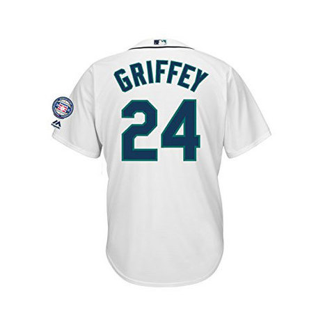 Ken Griffey Jr. Seattle Mariners #24 Men's Hall of Fame Cooperstown Jersey | Seattle Sports Teams | Scoop.it