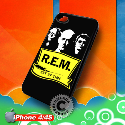 REM Out Of Time iPhone 4 4S Case for sale | Customizable Smart Phone Cases | Scoop.it