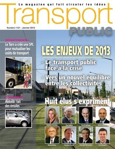 Transport Public n° 1131 - Janvier 2013 | Logistique et Transport GLT | Scoop.it