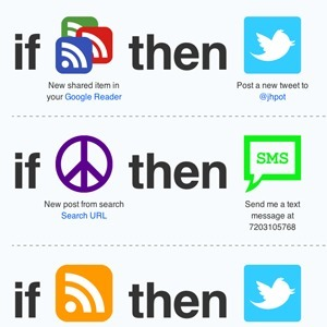 If This Then That: Connect & Automate Any Two Of Your Favorite Web Apps | educational technology for teachers | Scoop.it
