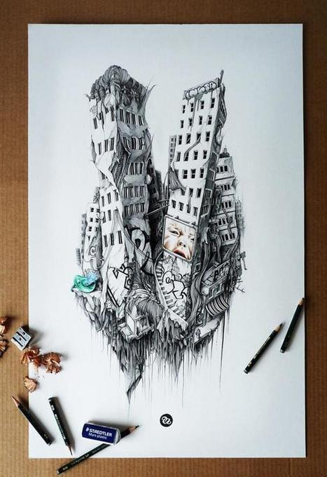 Pencil Drawings by PEZ   Culture and Fun - Art   Scoop.it