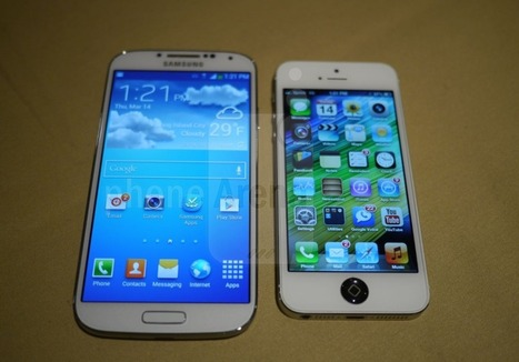 IPhone 5 Vs. Samsung Galaxy S4: The Smartphone Heavyweight Title Fight   Samsung S4   Scoop.it