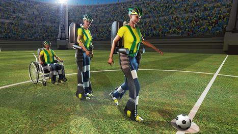 Un exosquelette contrôlé par la pensée lancera la Coupe du Monde 2014 | Tout Numérique | Scoop.it
