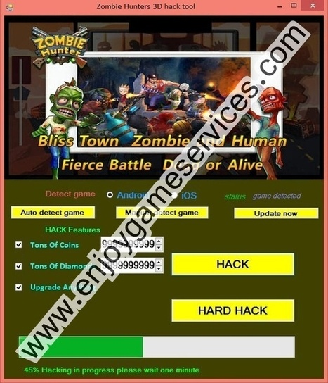 Zombie Hunters 3D hack tool | game | Scoop.it