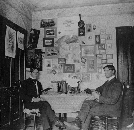 How students decorated their dorm rooms in 1900 | SCUP Links | Scoop.it