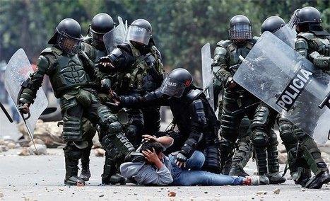 La policía colombiana asesina a indígena y secuestra a otros cuatro durante el Paro Agrario | Política para Dummies | Scoop.it