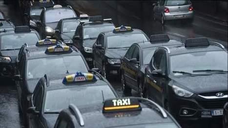 Verkeersinfarct in Brussel door actie taxichauffeurs | MaCuSa | Scoop.it