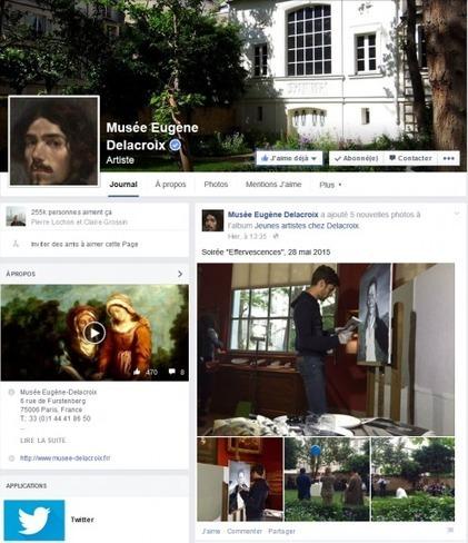 Clic France / Top 40 des musées et monuments français sur facebook et twitter (1er juin 2015): la croissance sur twitter retombe | Clic France | Scoop.it