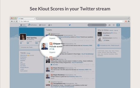 Klout Goes Everywhere With Browser Extensons | Green Girl Media, LLC | Scoop.it