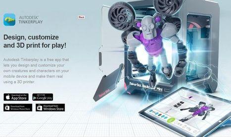 Tinkerplay: app móvil gratuita para diseño de personajes 3D que se pueden imprimir | NTICs en Educación | Scoop.it