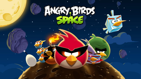 Angry Birds Space sur iPhone et iPad, gratuit pour un temps limité.... | INFORMATIQUE 2013 | Scoop.it