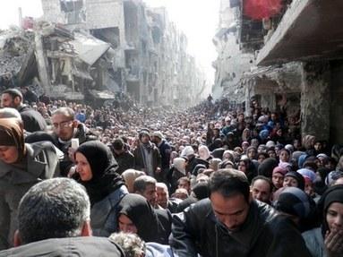 Piiritetyssä Yarmoukissa kuollaan nälkään — Amnesty International   Syyria   Scoop.it