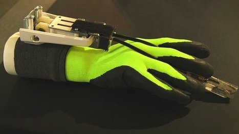 Power glove lets you carve stone - BBC News | inspiring | Scoop.it