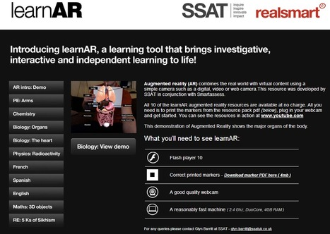 Learn AR   Augmented reality  & VR tools and news   Scoop.it