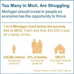 Census numbers tell of stagnancy and slow recovery | Michigan League for Public Policy | Education | Scoop.it