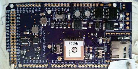 Rocketduino, for high-G, high altitude logging | Raspberry Pi | Scoop.it