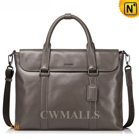 CWMALLS® Leather Portfolio Briefcase Bags CW906333   Mens Business Bags   Scoop.it