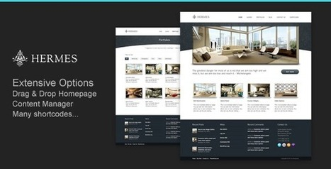 20+ Unique Hotel WordPress Theme - Weblees | Wordpress | Scoop.it