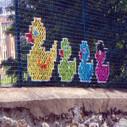 Le point de croix passe au street-art : golem13 | Les bons plans de Princess Zaza | Scoop.it