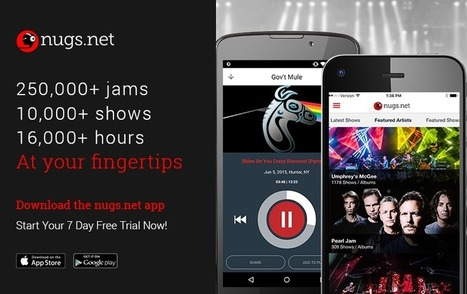 Live Music Pioneers nugs.net Launch Streaming Service | E-Music ! | Scoop.it