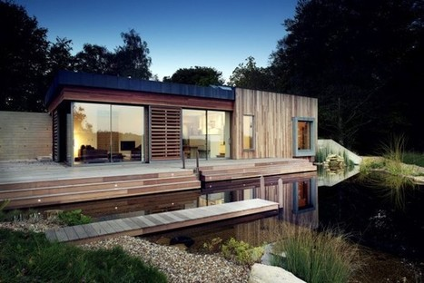 In Harmony with the Site: New Forest House by PAD Studio | sustainable architecture | Scoop.it