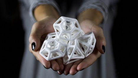 3D Printed Sugar Is Intricately Beautiful | materials, nano, 3D printing, manufacturing | Scoop.it