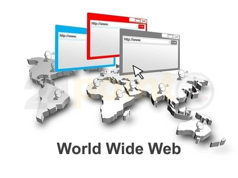 World Wide Web - PowerPoint Template | How I would love to experience World Wide Web | Scoop.it