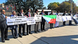 Demonstration  On Balochistan's Plight  At UN Human Rights Council | Human Rights and the Will to be free | Scoop.it