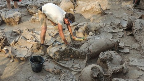 Wine Cellar, Well Aged, Is Revealed in Israel - New York Times | Ancient Origins of Science | Scoop.it