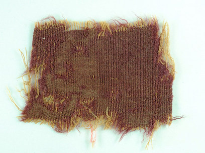 Rare Dyed Fabrics Found in Israeli Cave | Aux origines | Scoop.it