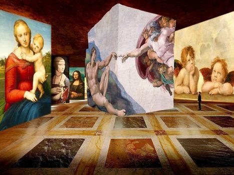 En 2018, Culturespaces ouvrira à Paris un musée numérique immergeant le visiteur au sein des gigapixels d'oeuvres majeures | UseNum - Culture | Scoop.it
