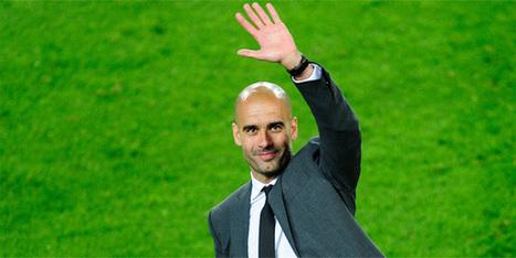 Ve Pep Guardiola Bayern Münih'te!   dünyadan spor haberleri   Scoop.it