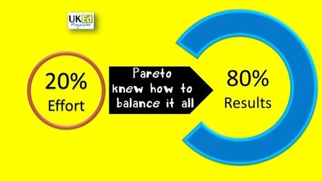 UKEdMag: Pareto Knew How To Balance It All by @ArtyTeach79 | ICTmagic | Scoop.it